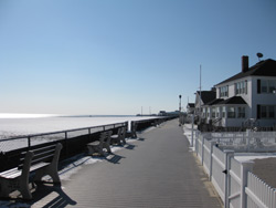 the norther section of the Point Pleasant Beach Boardwalk
